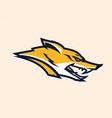 logo mascot aggressive fox