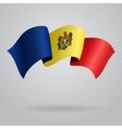 Moldovan waving Flag vector image