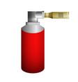 red burner vector image vector image