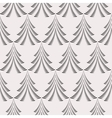 Seamless Christmas pattern Stylized ornament of vector image vector image