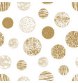 seamless geometric pattern background gold vector image