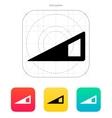 Volume control indicator icon vector image