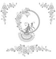 fairy wedding birds vector image