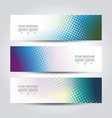 abstract design templates banners flyers and vector image