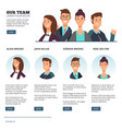 creative business people business outsourcing vector image vector image