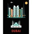 Dubai vector image vector image