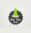 happy new year and merry christmas christmas vector image vector image