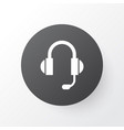 headphone icon symbol premium quality isolated vector image vector image