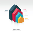 infographic and presentation template vector image vector image
