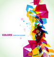 stylish abstract art vector image vector image