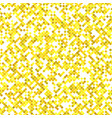 yellow seamless diagonal square pattern vector image vector image