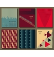 Collection of universal cards Templates with vector image