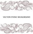tattoo henna background vector image