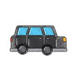 car vehicle transport classic automobile vector image vector image