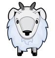 children cartoon a sheep vector image vector image