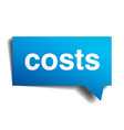 costs vector image vector image