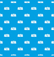 mother day postcard pattern seamless blue vector image vector image