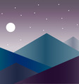 Mountains isolated on backgrounds vector image vector image