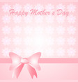 pink mother card vector image