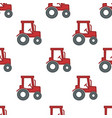 tractor or harvester farming and agriculture vector image