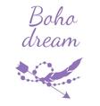 boho dream vector image vector image