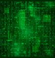 generation of random binary data coding vector image vector image