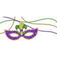 mardi gras decoration vector image