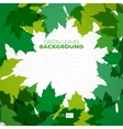 Natural background background with green vector image vector image