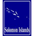 Solomon Islands vector image