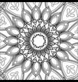 vintage mandala decoration scheme pattern vector image