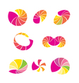 abstract logo vector image vector image