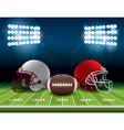 American Football Theme vector image