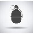 Attack grenade icon vector image