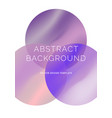 background with vibrant gradient shapes vector image vector image