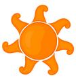Cartoon sun eps 10 vector image vector image