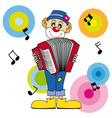 Clown music vector | Price: 1 Credit (USD $1)