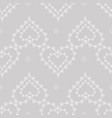 cute delicate abstract seamless pattern of lace vector image vector image