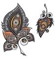 Ethnic ornamental plumes