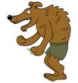 Happy Werewolf vector image vector image