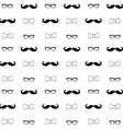 hipster seamless decorative pattern background vector image