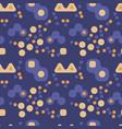 magic city lights seamless pattern vector image vector image