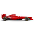 realistic race car vector image vector image