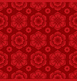 traditional chinese and japanese floral seamless vector image vector image