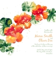 background with orange watercolor vector image vector image