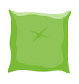 cartoon pillow symbol icon design vector image
