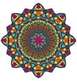 Mandala Round Ornament Pattern Vintage vector image