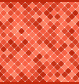 Red abstract seamless diagonal square pattern