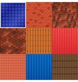 1609i029006Fm005c8house roof tile set vector image