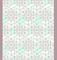 geometric seamless pattern background with line vector image vector image
