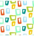 geometric vintage sixties seamless pattern vector image vector image
